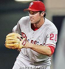 Chase Utley...he's so awesome I had to pin him twice :O)