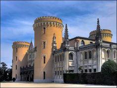 Castillo de Viñuelas Castle, Mansions, House Styles, Building, Frente Popular, Travel, Food, Temples, 17th Century