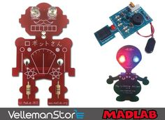 Looking for a fun #electronics project? Check out the NEW @MadLabUK kits at vellemanstore.com! _______________ #velleman #vellemanstore #electronickits #educationalkits #learning #soldering #solder #soldered #fun #project #electronic