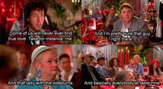 the wedding singer! love this movie. this part.. funny.
