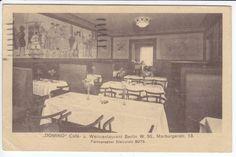 "Ak BERLIN Marburgerstr.13 Cafe ""DOMINO"" 1922 ( a .. 65 499 ) R | eBay"