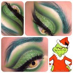 Grinch makeup!