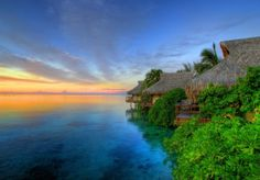 The Peaceful Waters Of Moorea Island