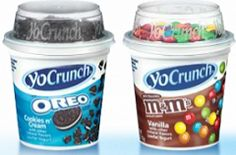 yogurt with favorite toppings a great treat for lunches A Food, Food And Drink, Bad Room Ideas, Low Fat Yogurt, Ben And Jerrys Ice Cream, Group Meals, Picky Eaters, Grocery Store, Food Inspiration