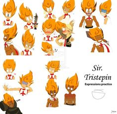 """I wanted to realize something about my favourite character from """"Wakfu"""" Sir Tristepin Perceda. Character Design Tips, Character Creation, French Anime, Chibi, Animation, Character Sheet, Cartoon Design, Manga, Anime Shows"""