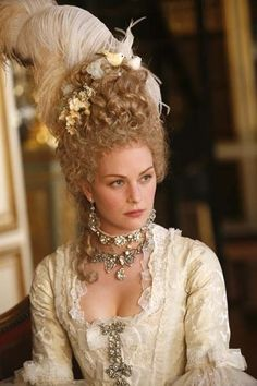 "tiny-librarian: Raphaëlle Agogué as Marie Antoinette in ""Versailles: Countdown to Revolution""."