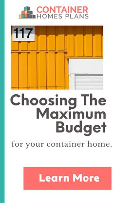 """Who Else Wants Simple Step-By-Step Plans To Design And Build A Container Home From Scratch?"" Building A Container Home, Container House Plans, Shipping Container Homes, Budgeting, How To Plan, Simple, Design, Spaces, Mobile Home"