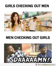 51 funny differences between men and women