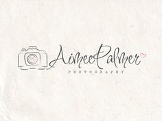 logo by PhotographyLogos on Etsy  Premade Photography logo design photography logo Watermark camera logo. Instant download digital download psd file