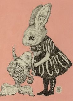 yuko higuchi - I find these images quite strange but also very endearing