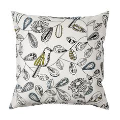 SNABBVINGE Cushion cover IKEA The zipper makes the cover easy to remove. Choose between a feather- or polyester-filled inner cushion.