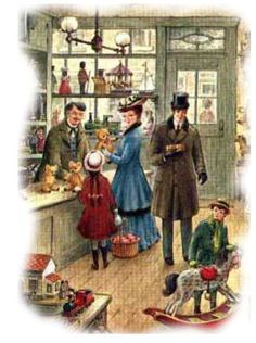 Victorian shoppers I just love old stuff