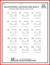math worksheet : unlocking multiplication quot;  4th grade multiplication worksheet  : 4 Grade Multiplication Worksheets