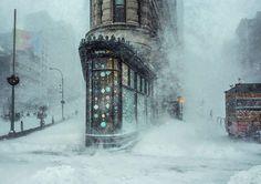 Flatiron Building, Nova York, Estados Unidos.