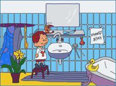 Kindereseite @ www.kinderzahnarztpraxis.de Felix zeigt uns die Praxis Dr. Huber
