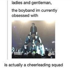 i love when One Direction does this at concerts