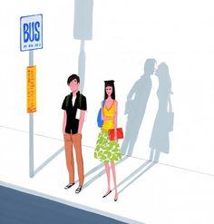 Jordi Labanda - Bus stop kiss