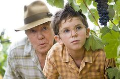 Another scene from A Good Year, the little boy is Russel Crowe's character as a child.