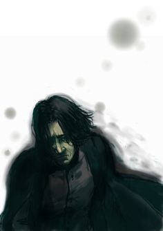 Sad Snape Professor Severus Snape, Severus Rogue, Alan Rickman Severus Snape, Harry Potter Characters, Harry Potter Art, Harry Potter Universal, Fantastic Beasts And Where, Sirius Black, Best Actor