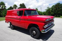 the ultimate Cruiser - 1961 Chevrolet Apache C10 4x4 Panel Truck