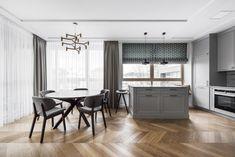 | Pilkai pilkas Roman Curtains, Valance Curtains, Table, Furniture, Home Decor, Roman Blinds, Roman Shades, Decoration Home, Room Decor