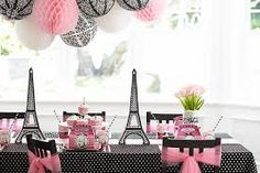 pink & black damask party theme - Google zoeken