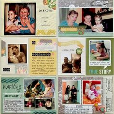 Project Life - Week 14 (right page)