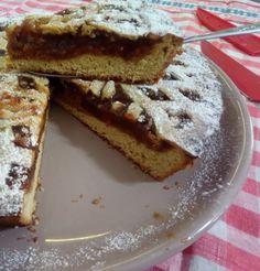 Crostata con marmellata di fichi e noci senza burro Biscotti, French Toast, Pie, Cookers, Breakfast, Desserts, Blog, Pasta, Cream