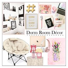 """""""Dorm Sweet Dorm"""" by pat912 ❤ liked on Polyvore featuring interior, interiors, interior design, home, home decor, interior decorating, Jessica Russell Flint, Beats by Dr. Dre, Home and polyvoreeditorial"""