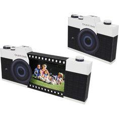 FREE DIY 3D PDF TEMPLATE TUTORIAL PRINTABLE Photo box (Camera),Photo Albums,Scrapbook,black,photograph,Camera ,present