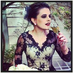 vestido noiva preto jj cabeleireiros agatha berbel