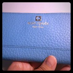 Kate Spade Southport Ave Stacey Wallet Amazing Kate Spade Wallet in excellent condition, used 1x. Shade is Morning Glory. kate spade Bags Wallets