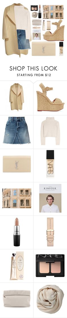 """bambi soho"" by charli-oakeby ❤ liked on Polyvore featuring Charlotte Olympia, Yves Saint Laurent, The Row, NARS Cosmetics, MAC Cosmetics, Marie Turnor, Brunello Cucinelli, Kate Spade, contest and followforfollow"