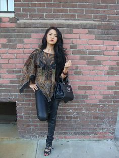 Bohemian Scarf Top by NativeVision1 on Etsy