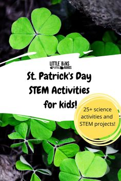 Nothing says St. Patrick's Day science fun more than a Leprechaun Trap with St. Patrick's Day STEM Activity Packs for kids! Your little engineer will enjoy learning about simple physics and chemistry concepts. A few challenges that you can expect to find in this activity pack are leprechaun rocket launchers, digging for gold oobleck, and fizzy pots! These STEM activity packs are excellent for grade levels 2K and up. Great for home, distance, and classroom learning!