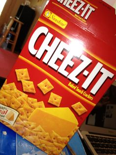 Square Roots with Cheez-Its and a Graphic Organizer | I Speak Math