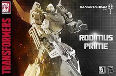 Imaginarium Art Rodimus Prime Statue - Sneak Peek!