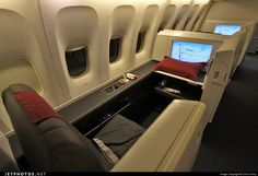 Air China Boeing 777 first class