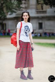 STYLE DU MONDE / Haute Couture Fall 2014 Street Style: Mona Matsuoka  // #Fashion, #FashionBlog, #FashionBlogger, #Ootd, #OutfitOfTheDay, #StreetStyle, #Style