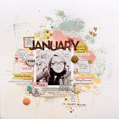 You, Me & Crazy Scrapbooking Inspiration Page