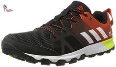 adidas Kanadia 8 Tr M, Chaussures de Running Homme, Noir, Gris (Brebas / Ftwbla / Chiart), 49 1/3 EU - Chaussures adidas (*Partner-Link)