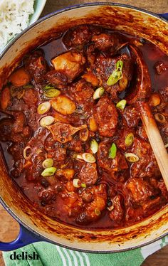 This Oxtail Stew Is The Perfect Weekend Dinner ProjectDelish - NES - Oxtail Oxtail Recipes, Beef Recipes, Soup Recipes, Cooking Recipes, Best Oxtail Stew Recipe, Curry Recipes, Cooking Tips, Recipies, Dinner Recipes