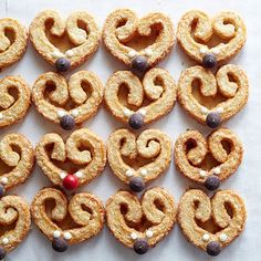 With a playful nod to everyone's favorite reindeer, these flaky, crispy cookies have just the right amount of sugar and spice, perfect for a breakfast treat: http://www.bhg.com/recipes/from-better-homes-and-gardens/december-2014-recipes/?socsrc=bhgpin120214reindeerpalmiers&page=4