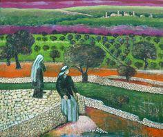 Palestine Landscape Art