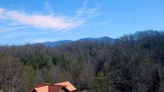 View of the ridge from the loft of #RidgeViewLodge - brand #new #SmokyMountains # vacation #cabin