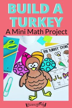 Are you looking for a fun. standards-based math project for your 2nd grade students to complete this Thanksgiving season? This turkey math activity is the perfect mini math project to use in the classroom during November or through the Fall season. This project reviews money, addition, and place value skills. Students will shop from a menu to purchase pieces they need to build a turkey. Counting For Kids, Counting Coins, Math Enrichment, Math Activities, Teaching Addition, Hallway Displays, Teaching Money, Thanksgiving Math, Math Projects