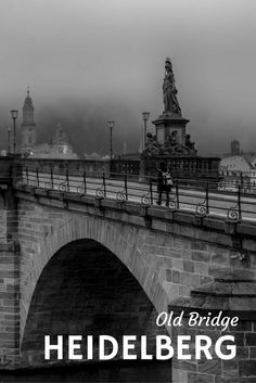 The Old Bridge, Heidelberg, Germany via @travelpast50