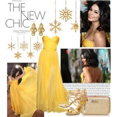 The Best Red Carpet Dresses ~ Vanessa Hudgens by softlittlefashion on Polyvore featuring polyvore, fashion, style, Nine West, Boutique and Anna Beck
