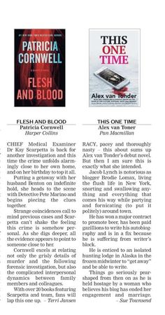 A mention in the Cape Times #review #thisonetimenovel #capetimes #socialmediathriller #press