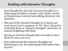 paxil for ocd intrusive thoughts